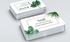 کارت ویزیت فروشگاه اینترنتی گل