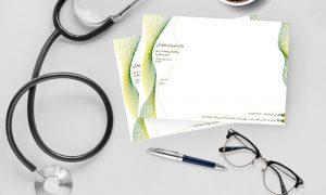 نسخه پزشک فسفری رنگ