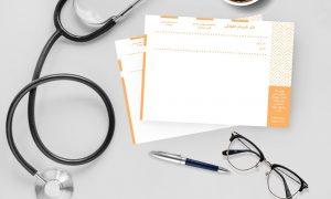 نسخه پزشک نارنجی