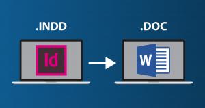 مزایا طراحی صفحه ارایی در ایندیزاین نسبت به word