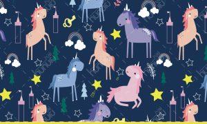 پترن کارتونی اسب